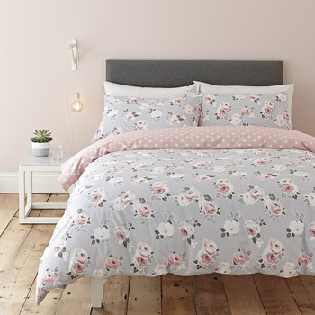 Paper Rose Duvet Set