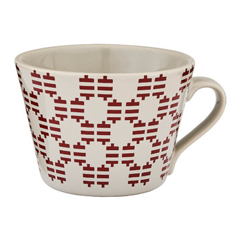 Red Conical Mug with Gift Box - Pip