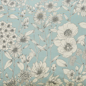 Maelee Lined Curtains - 168x229cm - Seaflower