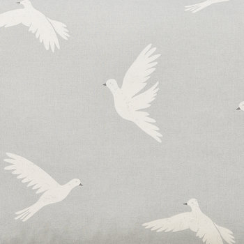 Paper Doves Lined Curtains - Mineral - 168x229cm