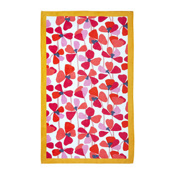 Amor Coral Beach Towel