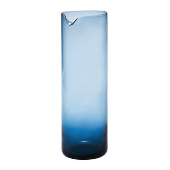 Bloom Glass Pitcher - Blue