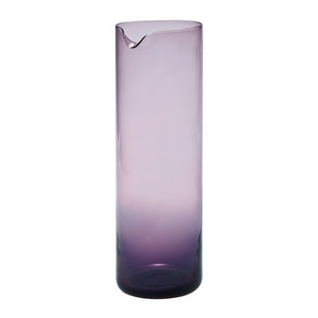 Bloom Glass Pitcher - Violet