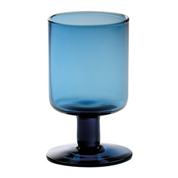 Bloom Wine Goblet - Blue