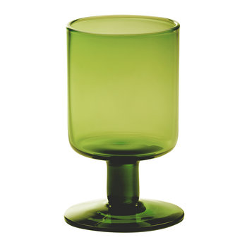 Bloom Wine Goblet - Green