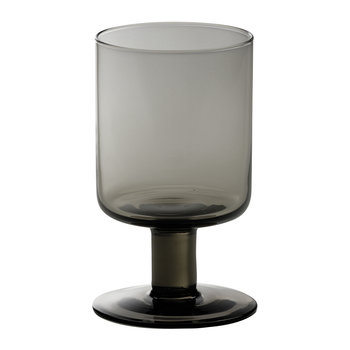 Bloom Wine Goblet - Smoke