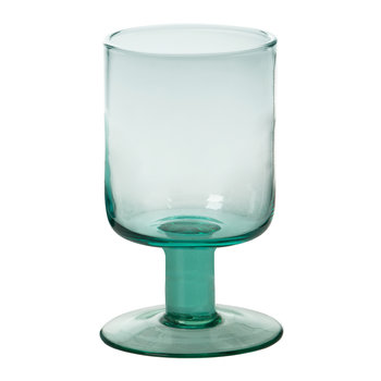 Bloom Wine Goblet - Turquoise