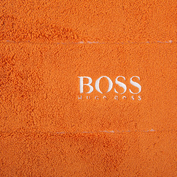 Plain Bath Mat - Orange