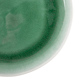 Maguelone Side Plate - Green Emerald