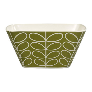 Bamboo Salad Bowl - Linear Stem - Seagraa