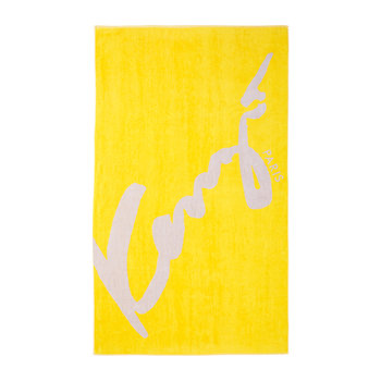 KSigne Beach Towel - Yellow