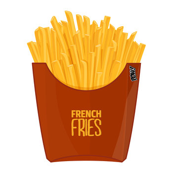 French Fries Vinyl Floor Mat