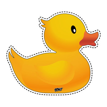Rubber Duck Vinyl Floor Mat