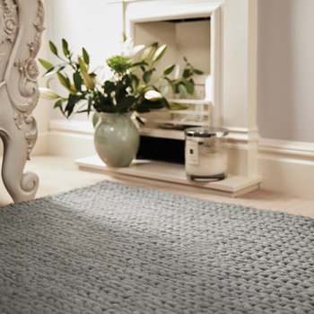 Fusion Hand Woven Wool Rug - 120x170cm - Dove Grey