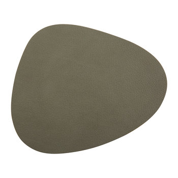 Curve Drinks Coaster - Army Green