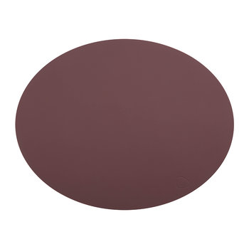 Oval Table Mat - Bordeaux