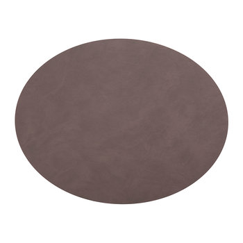 Oval Table Mat - Purple