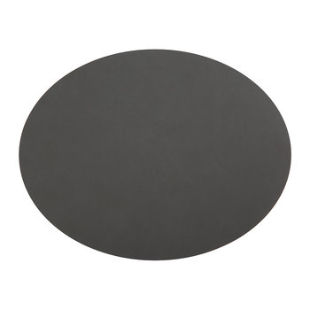 Oval Table Mat - Coal