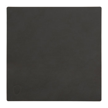 Square Table Mat - Black - Small