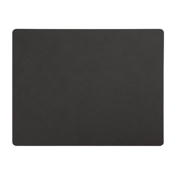 Table Mat Rectangle - Black - Large