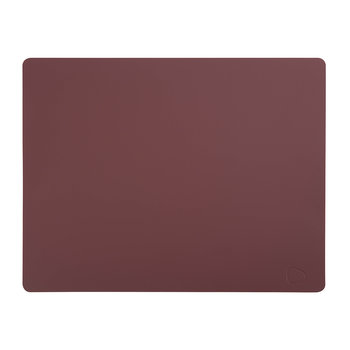 Rectangle Table Mat - Bordeaux - Large