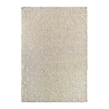 Fusion Hand Woven Wool Rug - 120x170cm - Ivory