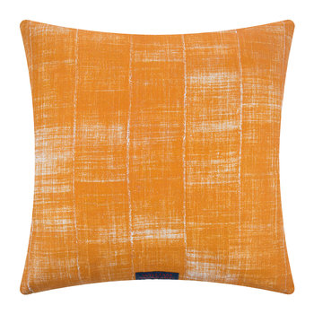 Plymton Reversible Cushion - 60x60cm - Terracotta