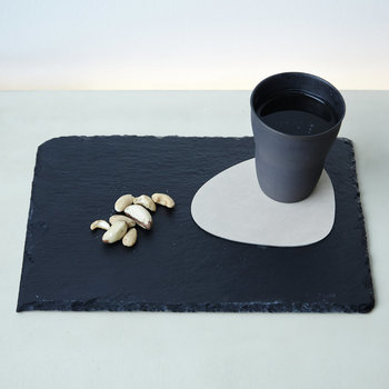 Curve Drinks Coaster - Dark Blue
