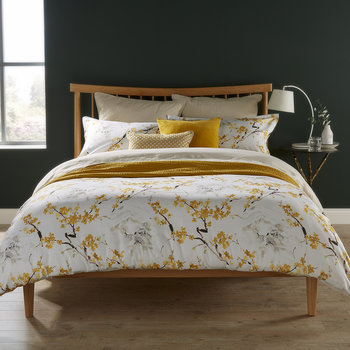 Haruki Duvet Set - Ochre