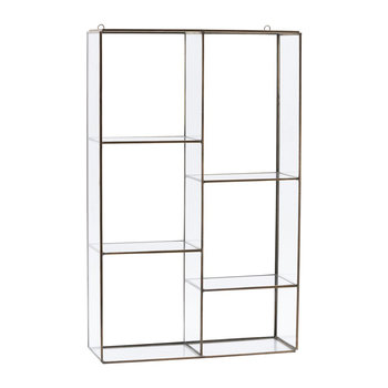 Hanging Wall Storage Unit - 6 Compartments
