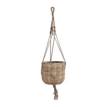 Hanging Woven Planter - Small