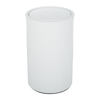 DW 121 Laundry Basket - Matt White
