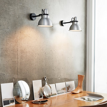 Type 1228 Wall Light - Silver Lustre