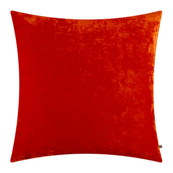 Paddy Velvet Cushion - 50x50cm - Blood Orange