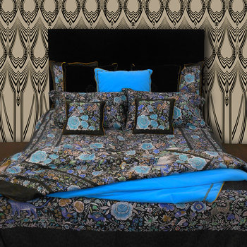 Enchanted Garden Bed Set - Light Blue - Super King