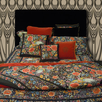 Enchanted Garden Bed Set - Super King - Red