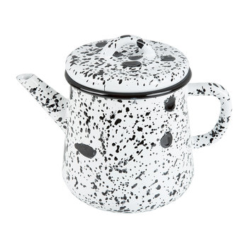 Monochrome Teapot - Black/White