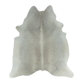 Natural Cowhide Rug - Grey