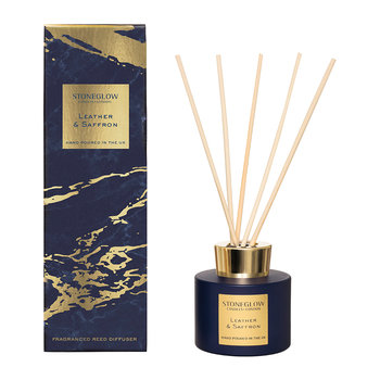 Luna Reed Diffuser - Leather & Saffron