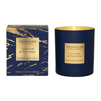Luna Tumbler Candle - Leather & Saffron