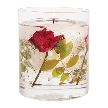 Nature's Gift Gel Candle - Red Rose