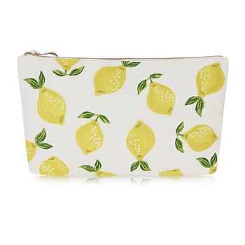 Lemon Wash/Clutch Bag - Blanc