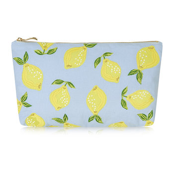 Lemon Wash/Clutch Bag - Chambray