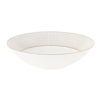 Arris Soup Bowl - 21cm - White