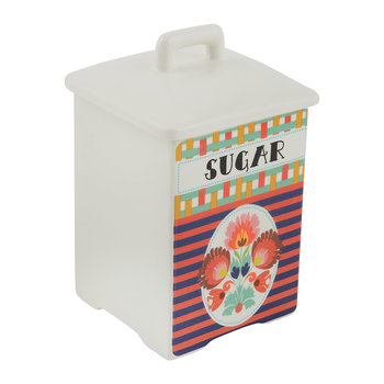Funky Table Ceramic Jar - Sugar