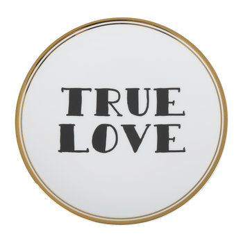 Funky Table Plate - True Love