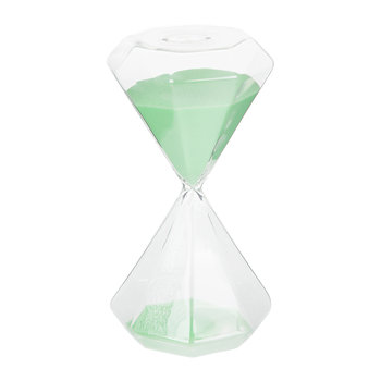 Hourglass Sand Timer - 30 Minutes - Green