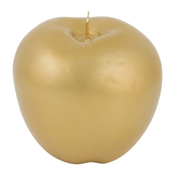 Wax Apple Candle - Matt Gold
