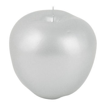 Wax Apple Candle - Matt Silver