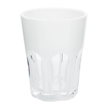 Double Face Acrylic Tumbler - White